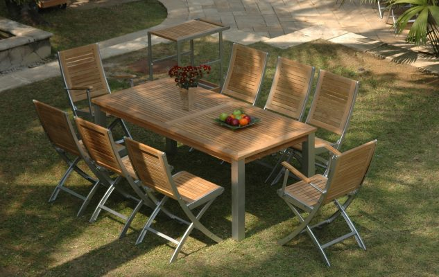 Marrina-folding-arm-and-side-chair-Olivia-rect-table
