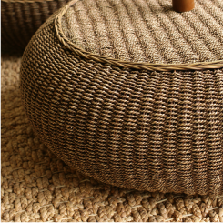 rattan and natural viber material