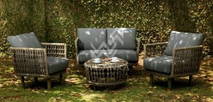 synthetic rattan furniture supplier for hotel