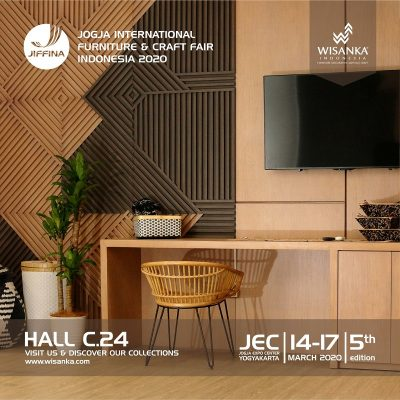JIFFINA 2020 (Jogja International Furniture and Craft Fair)