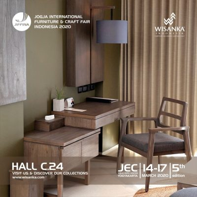 JIFFINA 2020 Yogyakarta (Jogja International Furniture and Craft Fair)